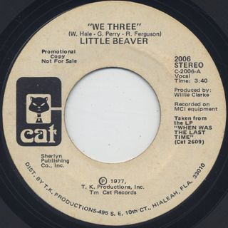 Little Beaver / We Three (45) front