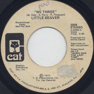 Little Beaver / We Three (45) back