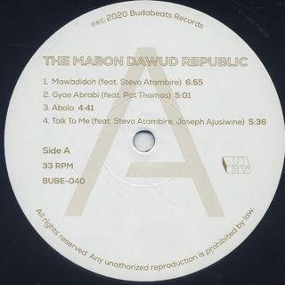 Mabon Dawud Republic / S.T. label
