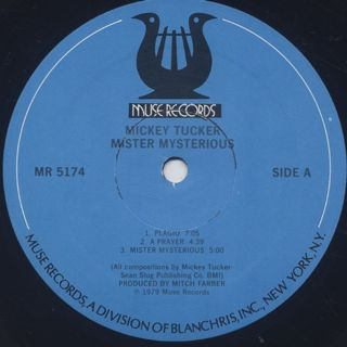 Mickey Tucker / Mister Mysterious label