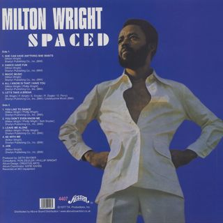 Milton Wright / Spaced back