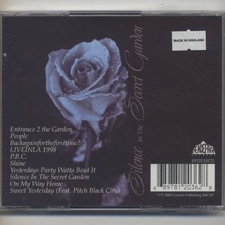 Moodymann / Silence In The Secret Garden (CD) back