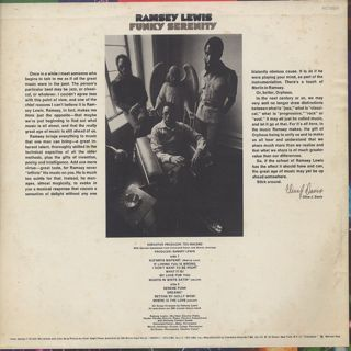 Ramsey Lewis / Funky Serenity back