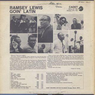 Ramsey Lewis / Goin' Latin back