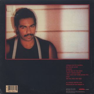 Ray Parker Jr. / Woman Out Of Control back