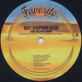 Ray Stephen Oche And His Matumbo / Interpretation Of The Original Rhythm label