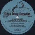 Rick Holmes / Remember To Remember (Re)-1