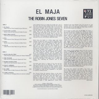 Robin Jones Seven / El Maja back