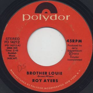 Roy Ayers / Brother Louie c/w Virgo Red front