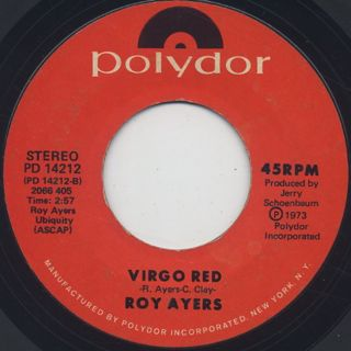 Roy Ayers / Brother Louie c/w Virgo Red back