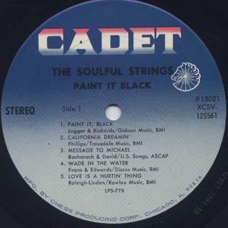 Soulful Strings / Paint It Black label