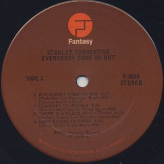 Stanley Turrentine / Everybody Come On Out label