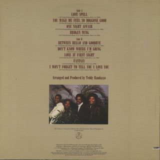 Stylistics / Love Spell back