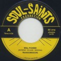 Transgressors / Will Power c/w Money For Born, Money For Die