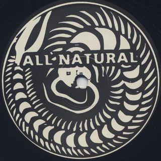 All Natural / Writer's Black back