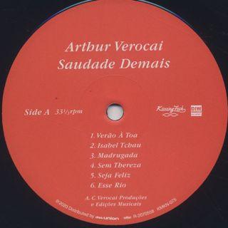 Arthur Verocai / Saudade Demais label