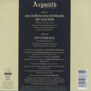Azymuth / Demos 1973-75: As Curvas Da Estrada de Santos back