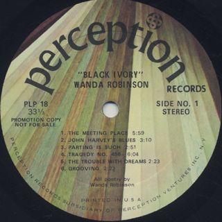 Black Ivory / Wanda Robinson label
