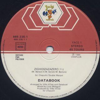 Databook / Zighidizazazero label