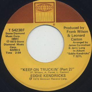 Eddie Kendricks / Keep On Truckin' back