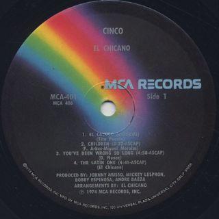 El Chicano / Cinco label