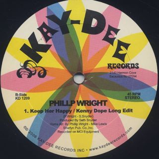 Fire / Deeper In Love c/w Phillip Wright / Keep Her Happy label