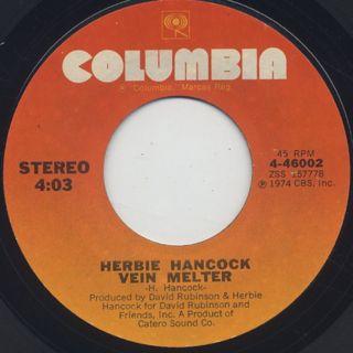 Herbie Hancock / Chameleon (45) back