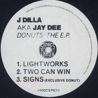 J Dilla a.k.a. Jay Dee / Donuts The E.P. label