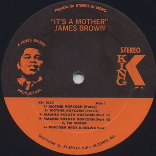 James Brown / It's A Mother label