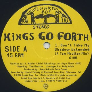 Kings Go Forth / Don't Take My Shadow (Tom Moulton Mixes) back