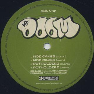MF Doom / Hoe Cakes label