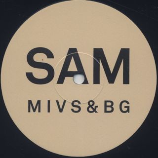 Sam Gendel & Sam Wilkes / Music For Saxofone & Bass Guitar label
