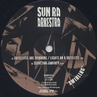 Sun Ra Arkestra / Swirling label