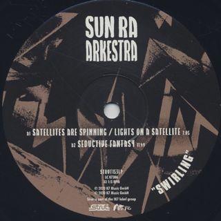 Sun Ra Arkestra / Swirling label