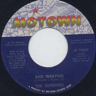 Supremes / Bad Weather