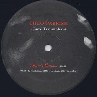 Theo Parrish / Love Triumphant back