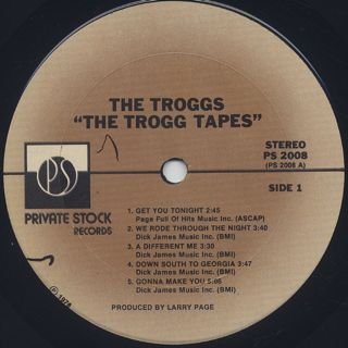 Trogg Tapes / S.T. label