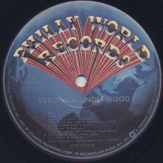 Veronica Underwood / S.T. label