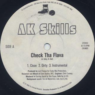 AK Skills / Check Tha Flava