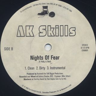 AK Skills / Check Tha Flava back
