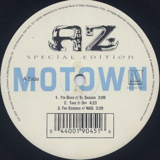 AZ / Aziatic Special Edition label