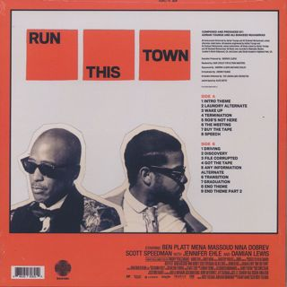 Adrian Younge & Ali Shaheed Muhammad / Run This Town: Original Score (LP) back