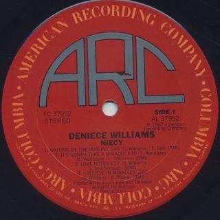 Deniece Williams / Niecy label