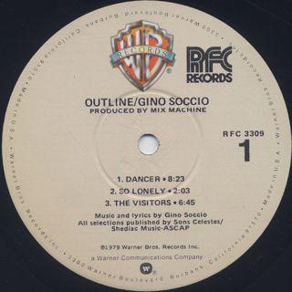 Gino Soccio / Outline label