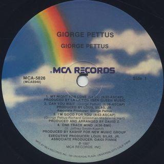 Giorge Pettus / S.T. label