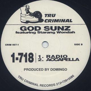 God Sunz / 1-718 back