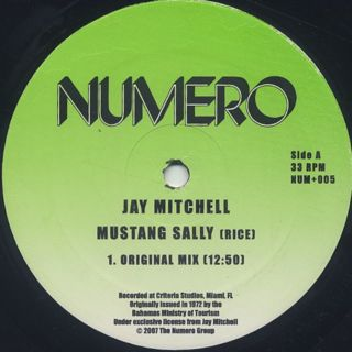 Jay Mitchell / Mustang Sally back