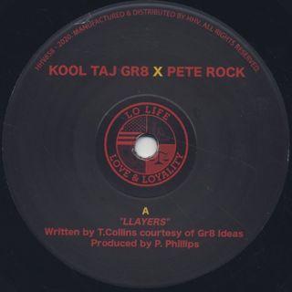 Kool Taj The Gr8 X Pete Rock / Llayers label