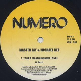 Master Jay & Michael Dee / T.S.O.B. label