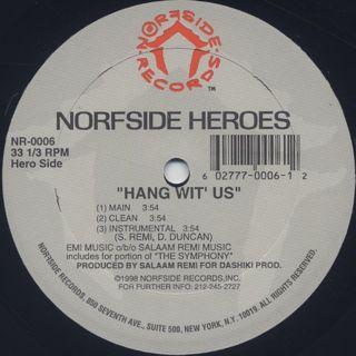 Norfside Heroes / Fistfull Of Dollars (Stick 'Em Up) label